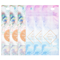 Wine Travel Bag - Marble & Floral Designs  (Pack of 6)